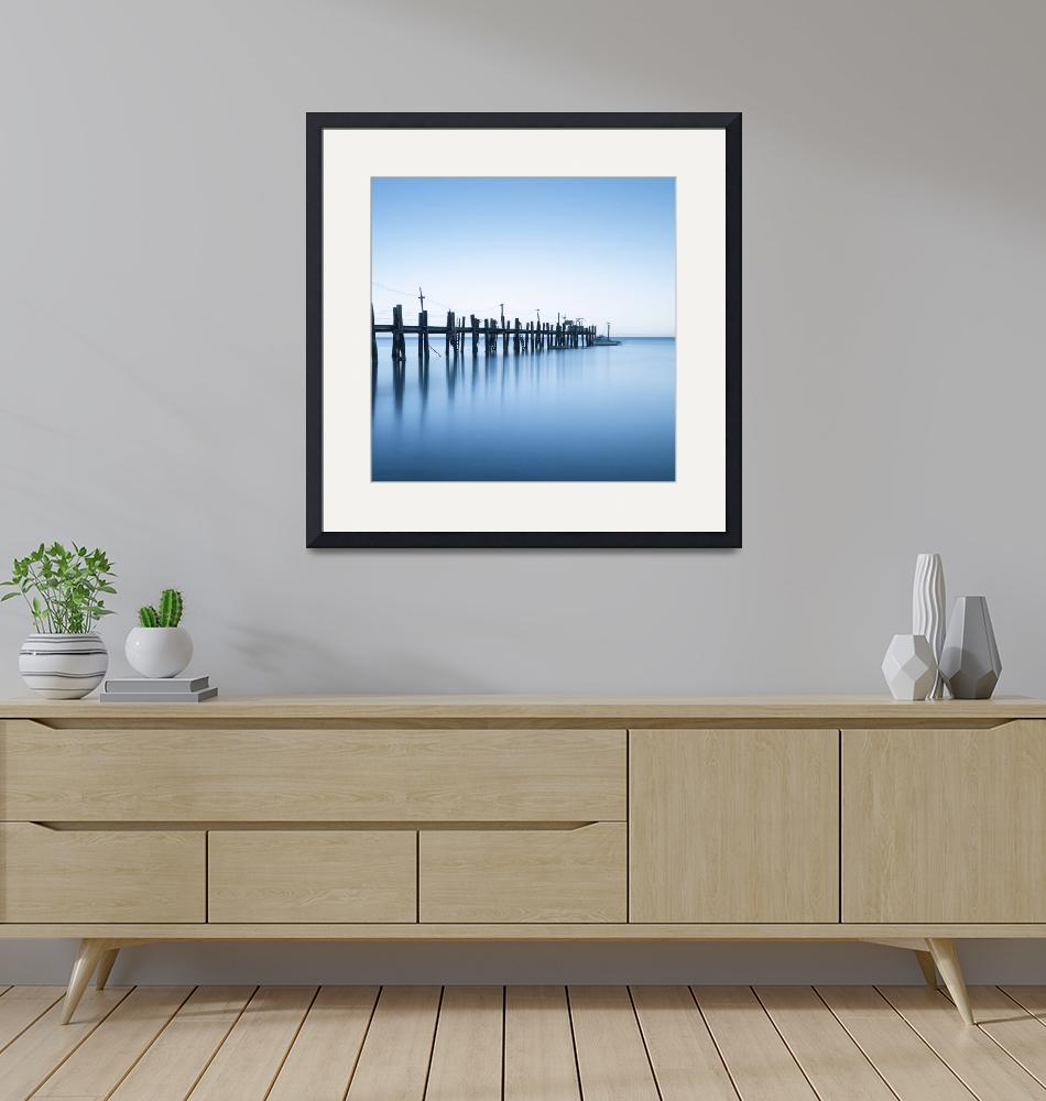 """""""China Camp Panoramic two of two""""  by artlicensing"""