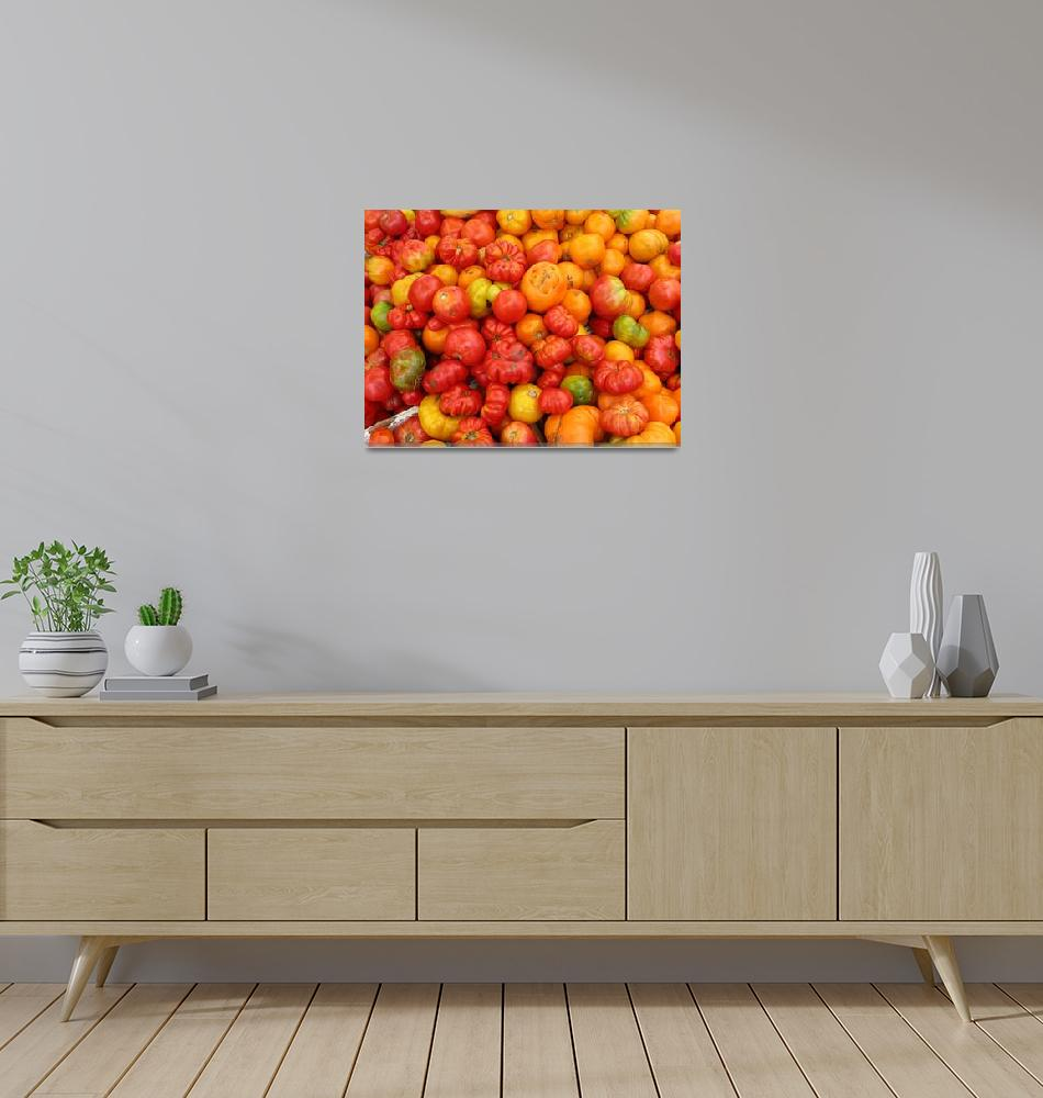 """""""tomatoes""""  (2007) by NickBiscardiArt"""