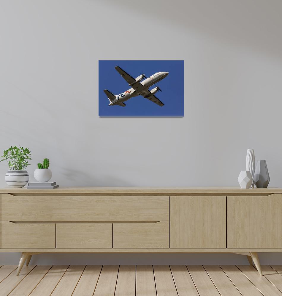 """Regional Express Saab 340""  (2017) by JohnDaly"