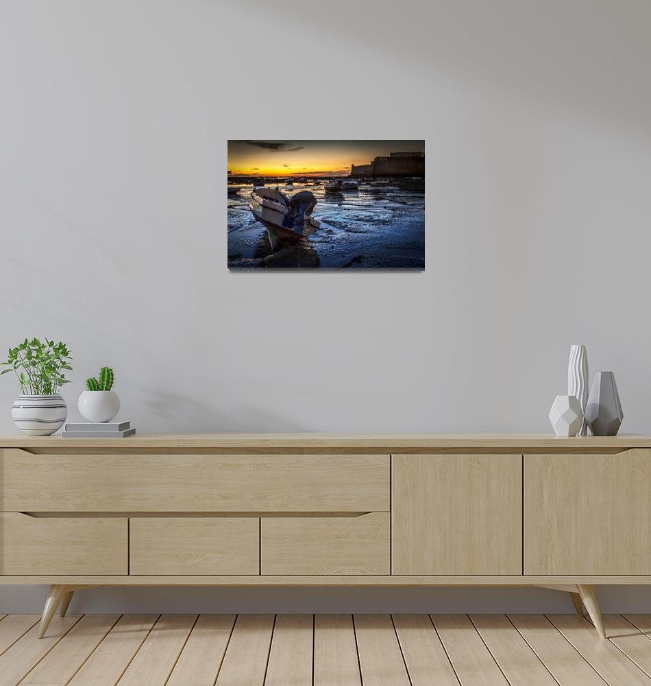 """La Caleta Beach Cadiz Spain""  by Avanzini"