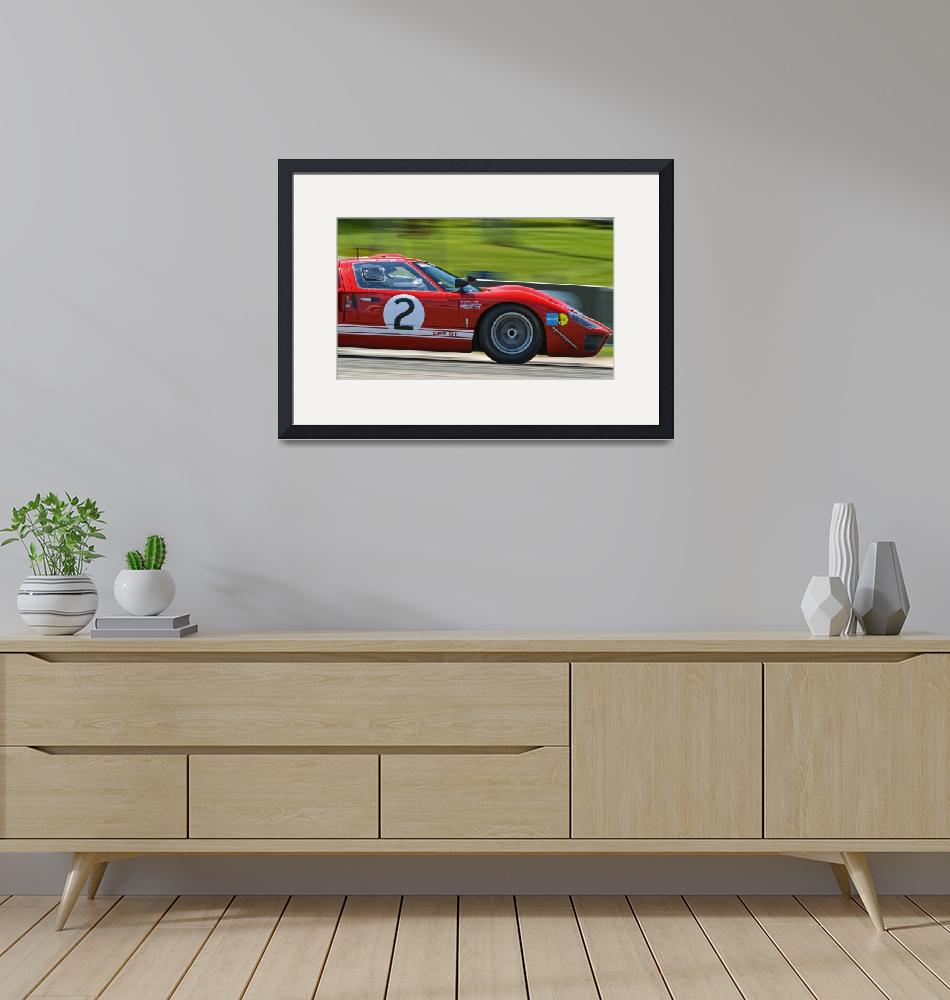 """""""Ford GT40""""  (2010) by JeffBlackwell"""