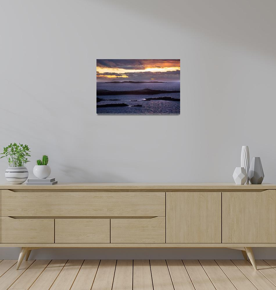 """Snaefellsnes Iceland Sunset""  (2016) by RyanStoddard11"