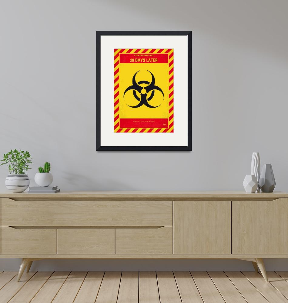 """""""No1029 My 28 Days Later minimal movie poster""""  by Chungkong"""