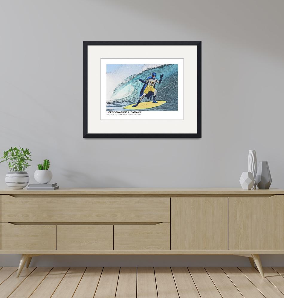 """""""Holy Cowabunga Batman Surfing""""  (2018) by Automotography"""