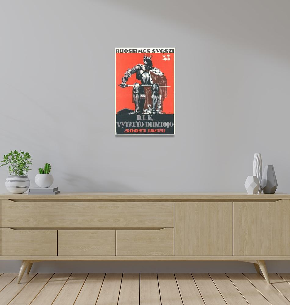 """""""Vintage USSR Russia Cold War Soviet Union Poster""""  by palaciodebellasartes"""