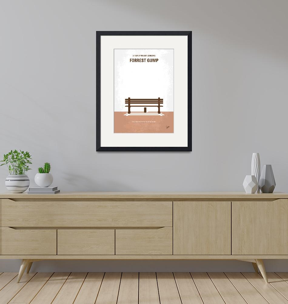 """No193 My Forrest Gump minimal movie poster""  by Chungkong"