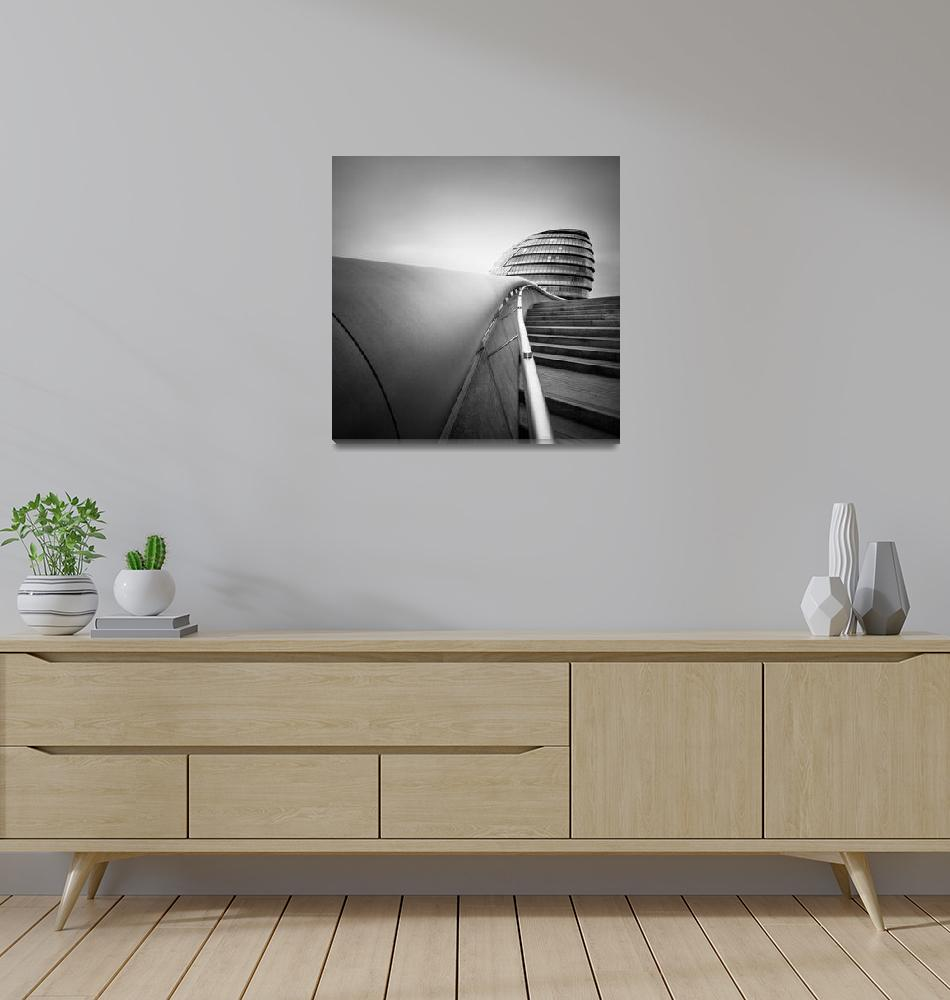 """London #01: City Hall""  (2012) by sensorfleck"