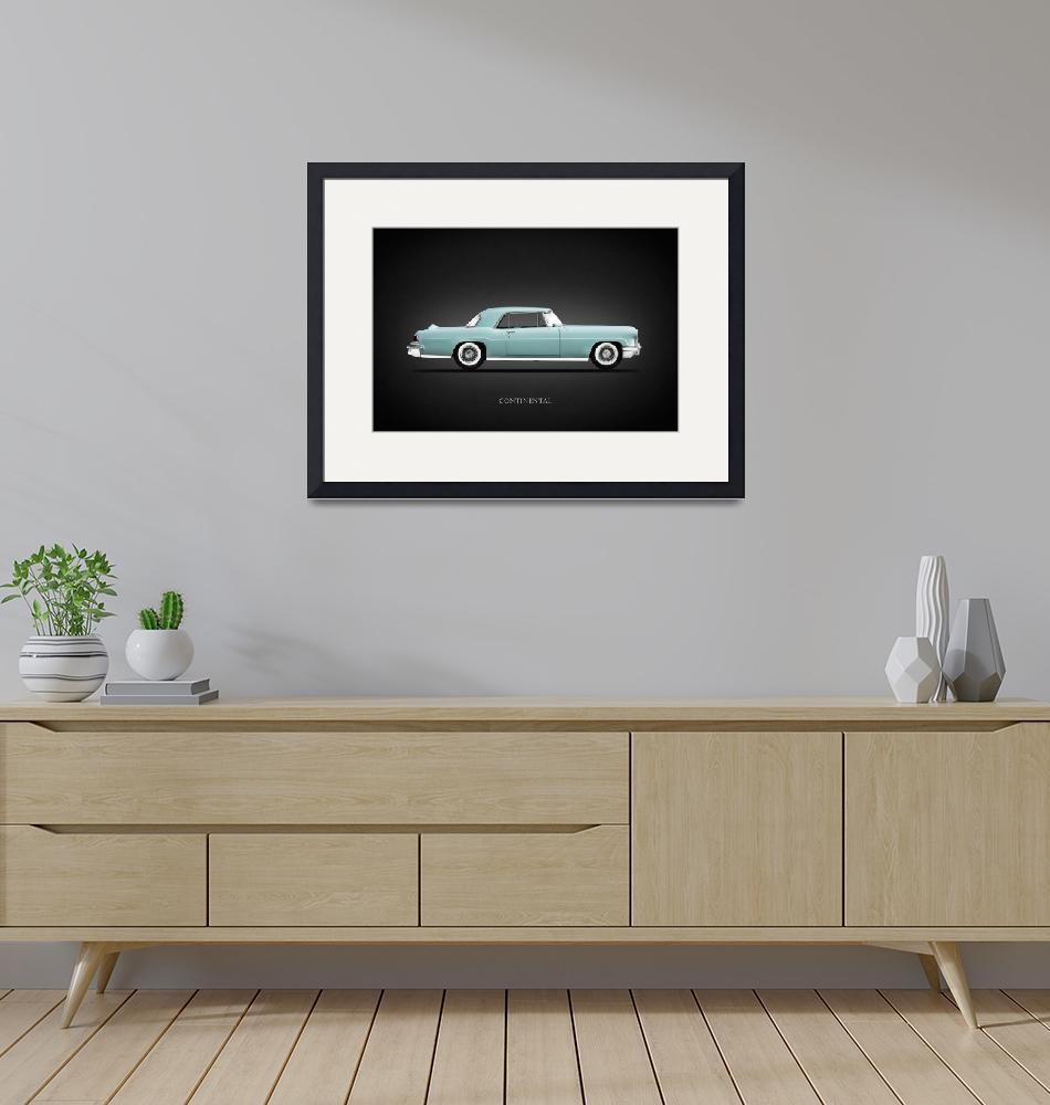 """""""Lincoln Continental MkII 1956"""" by mark-rogan"""
