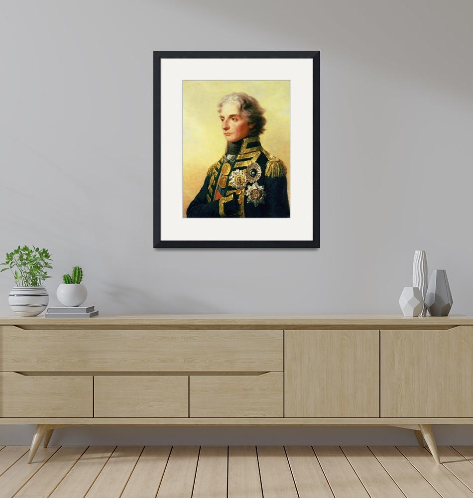 """Portrait of Lord Horatio Nelson by Friedrich Heinr""  by fineartmasters"