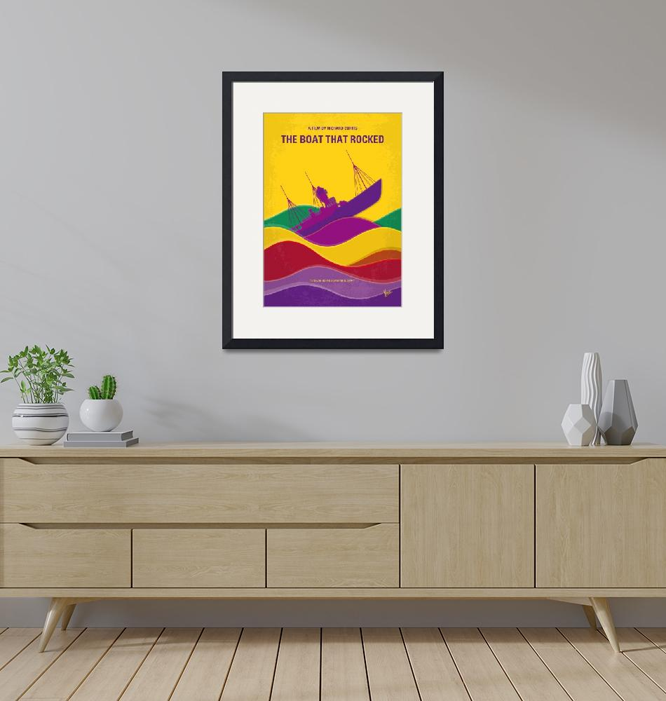 """""""No961 My The boat that rocked minimal movie poster""""  by Chungkong"""