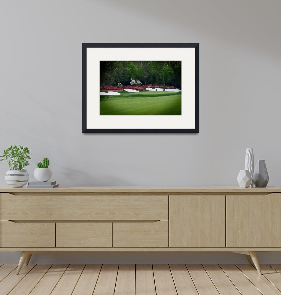 """Amen Corner Golf Augusta Georgia""  (2009) by AngelWingsArt"
