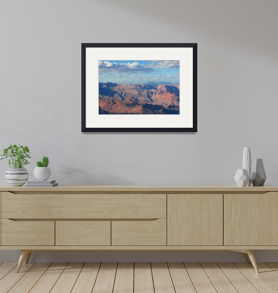"""""""Grand Canyon Approaching Sunset""""  (2012) by FordLou"""