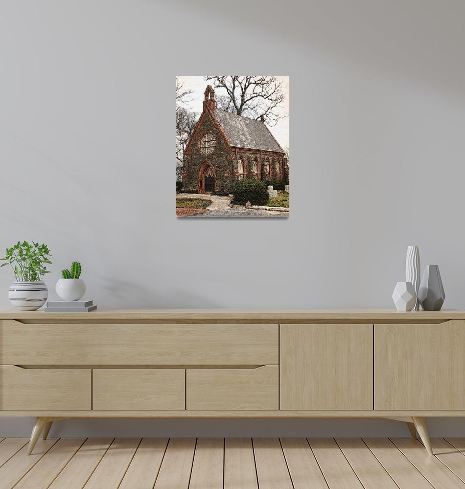 """""""Hillwood Chapel""""  (2012) by LunarImage"""