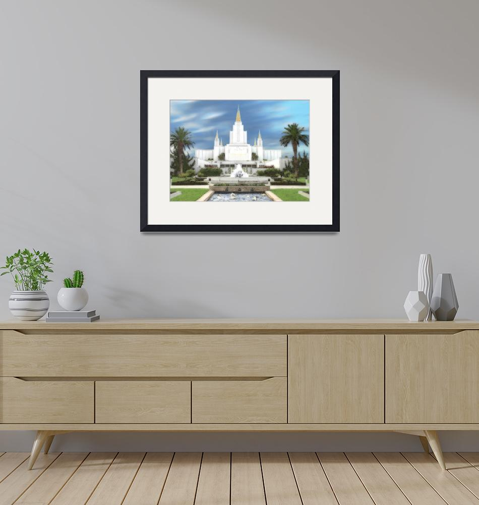 """""""Oakland Temple""""  by TerrySpringer"""