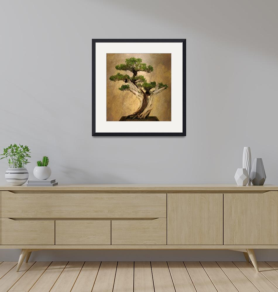 """Asian Bonsai"" (2015) by JessicaJenney"