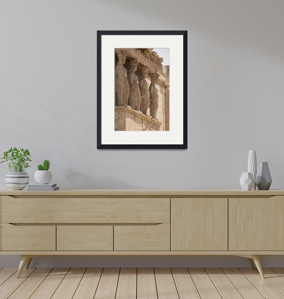 """""""Maidens of Caryatids at the Erechtion""""  (2010) by SederquistPhotography"""