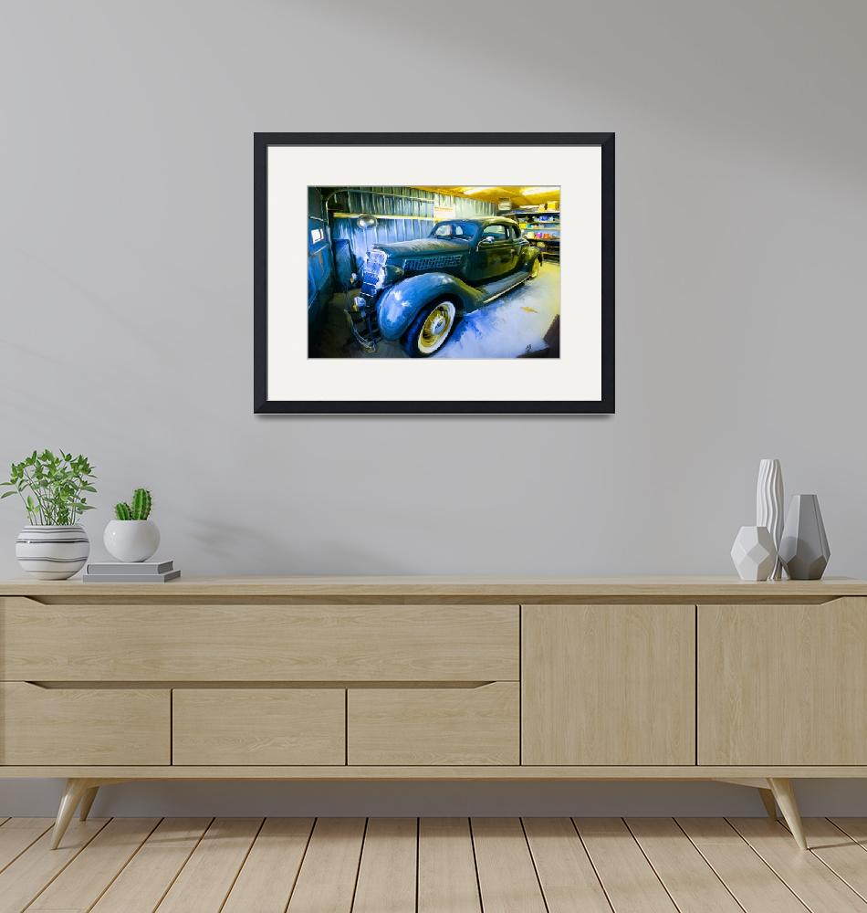 """""""Waiting for Spring Car Shows""""  (2013) by YEPgraphix"""