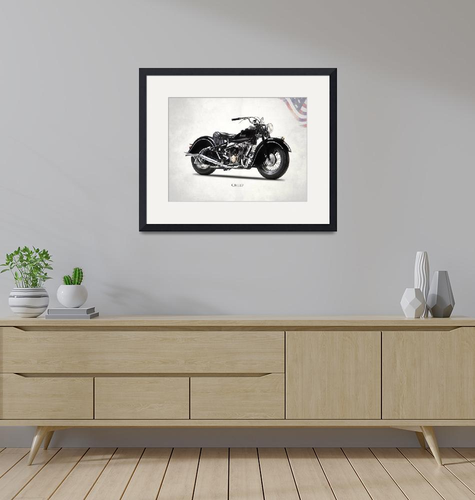 """""""The 1947 Indian Chief""""  by mark-rogan"""