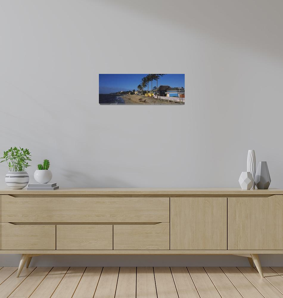 """""""Buildings along the beach""""  by Panoramic_Images"""