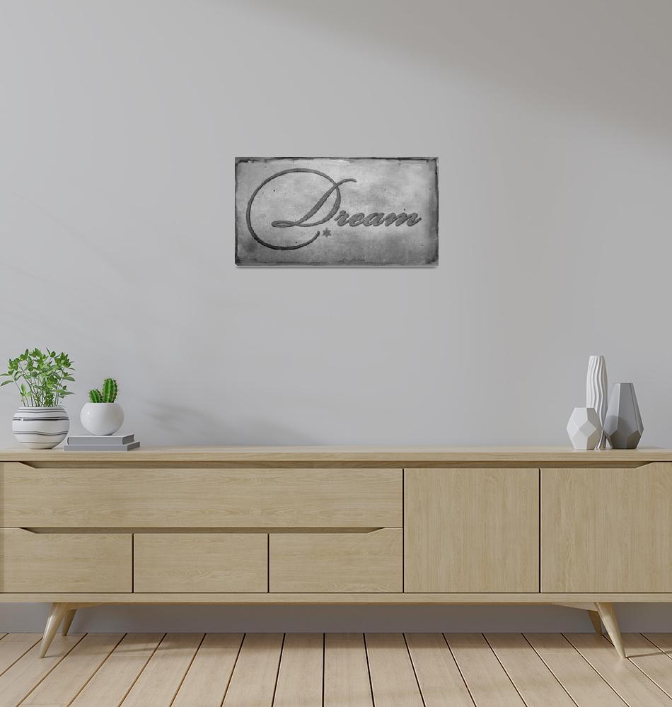 """dream stencil""  by lizmix"