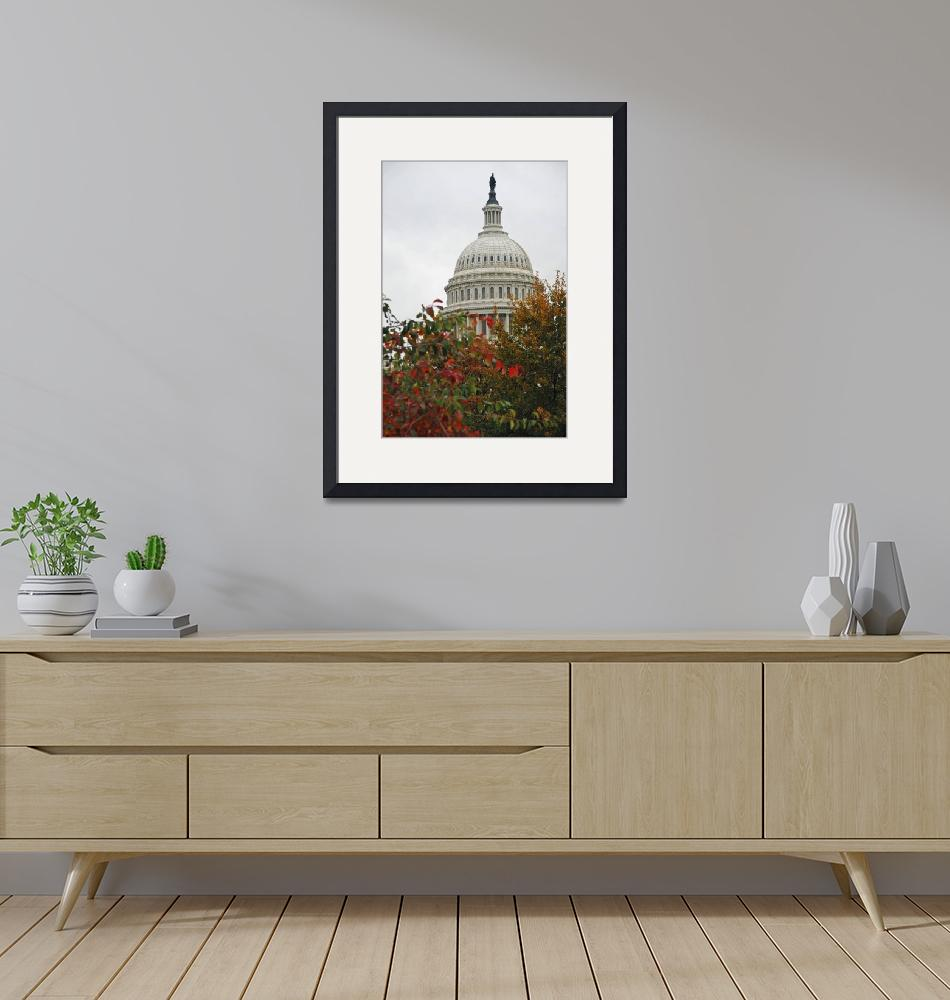 """Fall Capitol Building""  (2007) by pkotter"