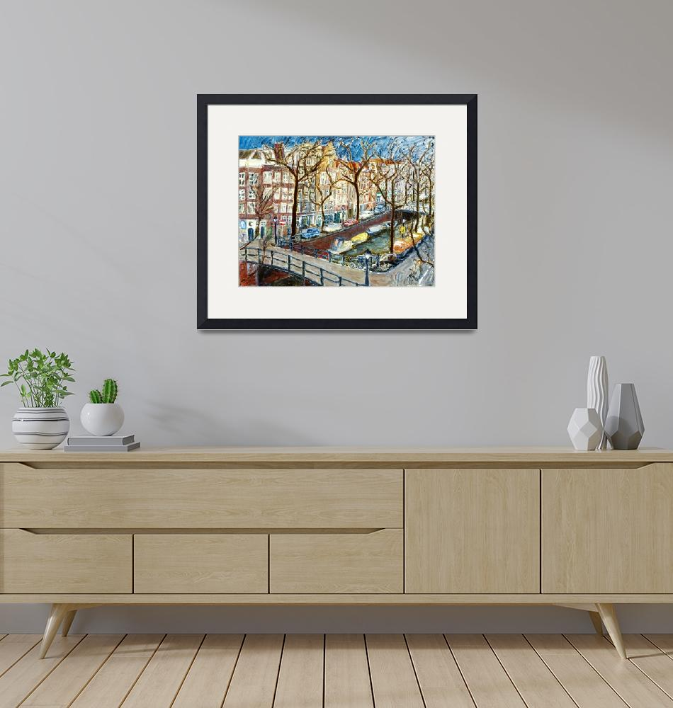 """""""AmsterdamCanal""""  (2000) by californiadreaming"""