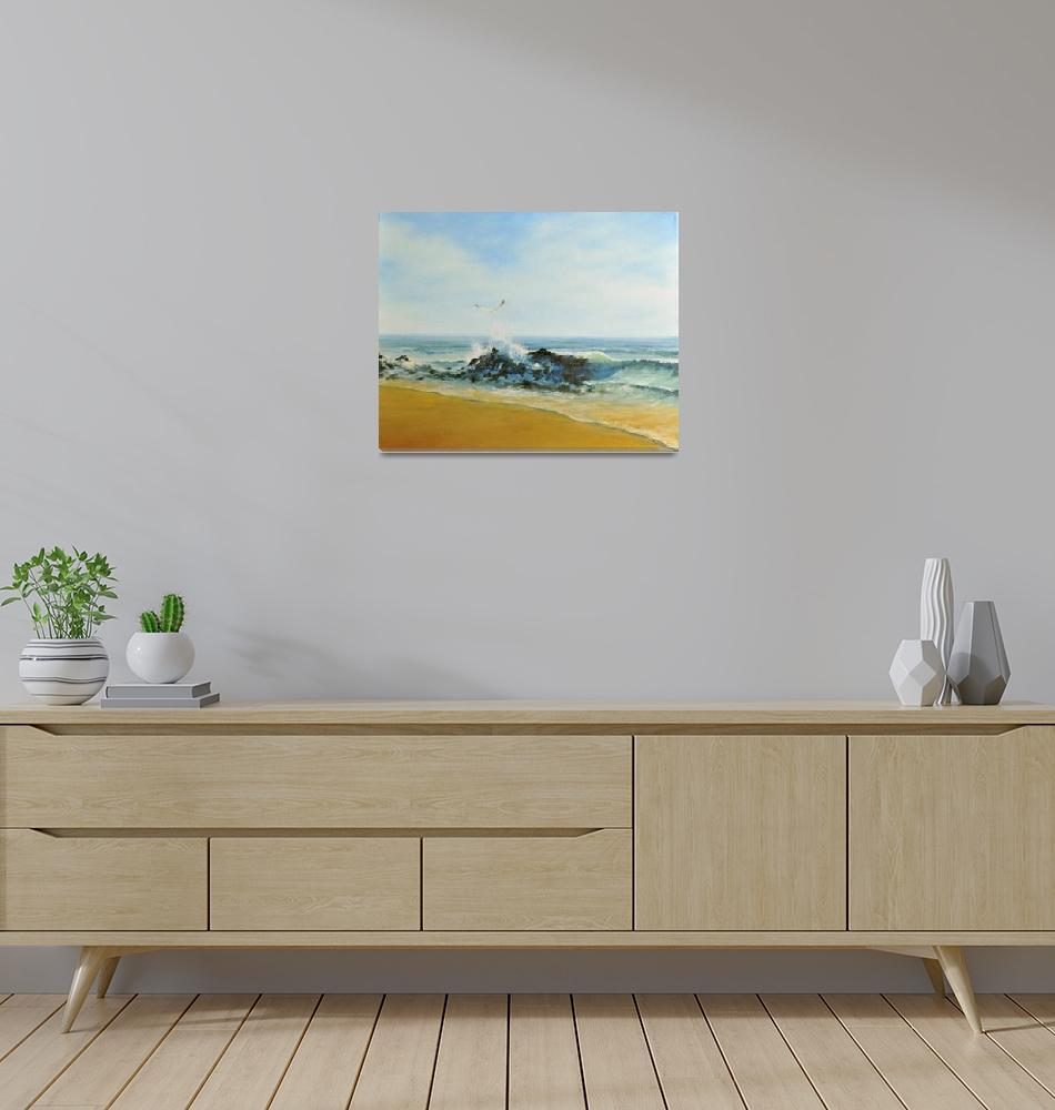 """Beach Walk""  (2010) by KeithDemers"