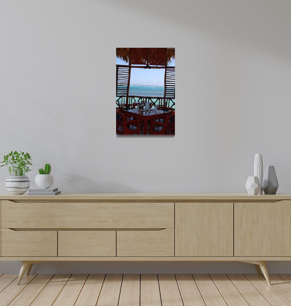 """""""Window in Paradise""""  (2006) by SallyMcKay"""