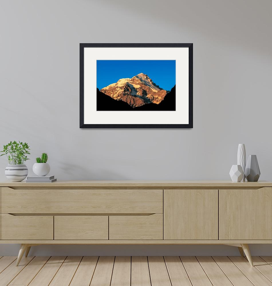 """""""Aconcagua at dawn""""  (2003) by ExposedPlanet"""