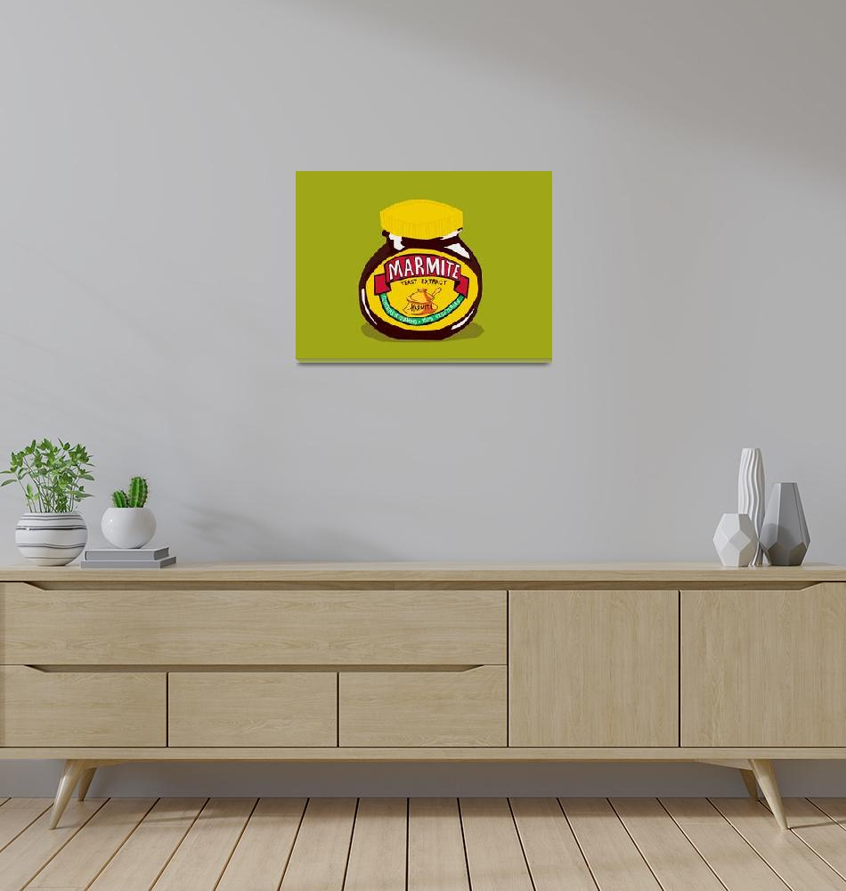 """marmite  - Love it or Hate it""  (2009) by roctopus"