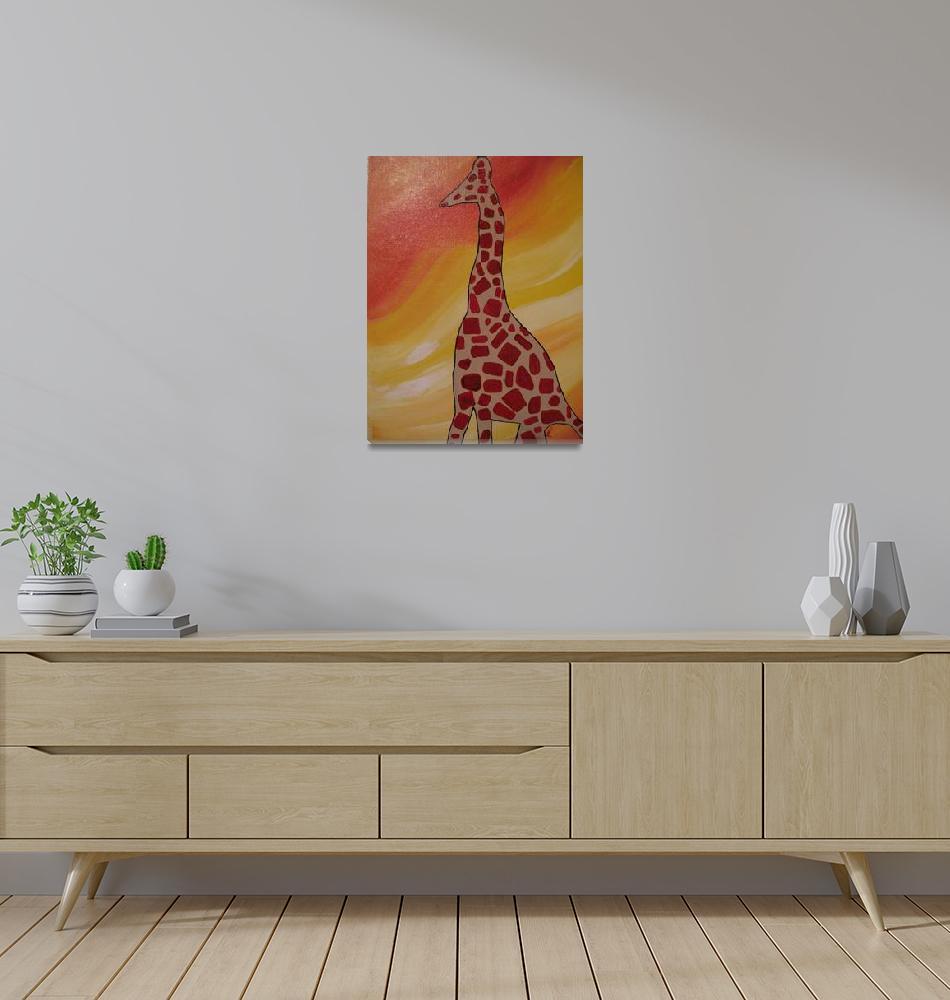 """Proud giraffe""  (2010) by junebug622"