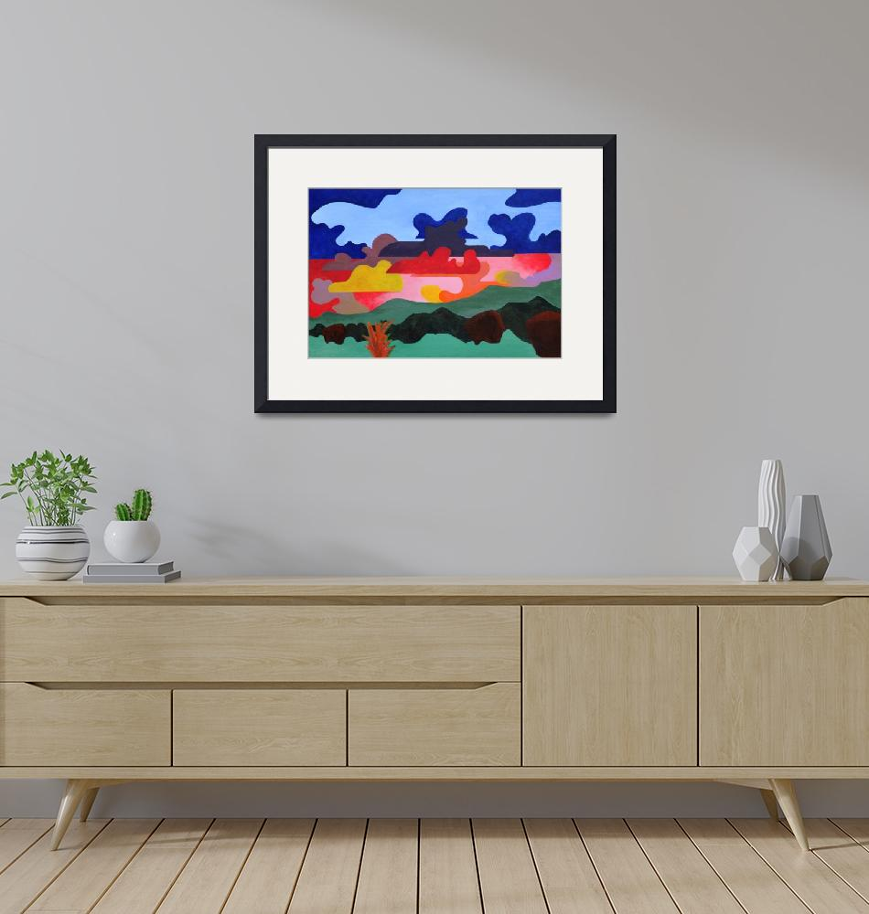 """""""New Mexico Landscape 1""""  (2010) by weller"""