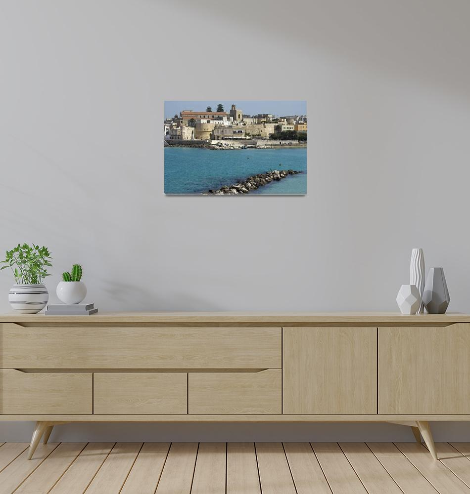 """""""Otranto Bay""""  (2010) by Brizio"""
