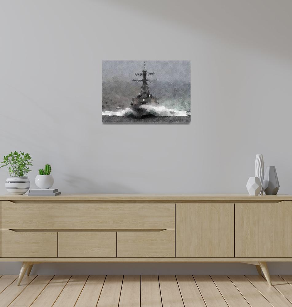 """""""USS Arleigh Burke""""  (2005) by MilImages"""
