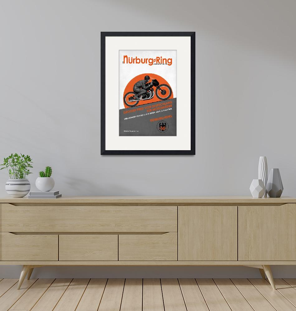 """""""The Vintage Grand Prix of Germany Poster""""  by mark-rogan"""