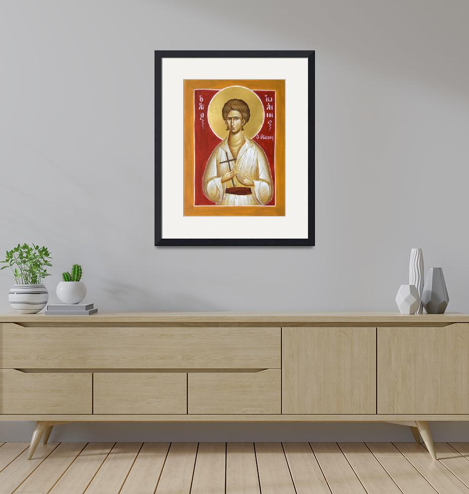 """""""St John the Russian""""  (2012) by ikonographics"""