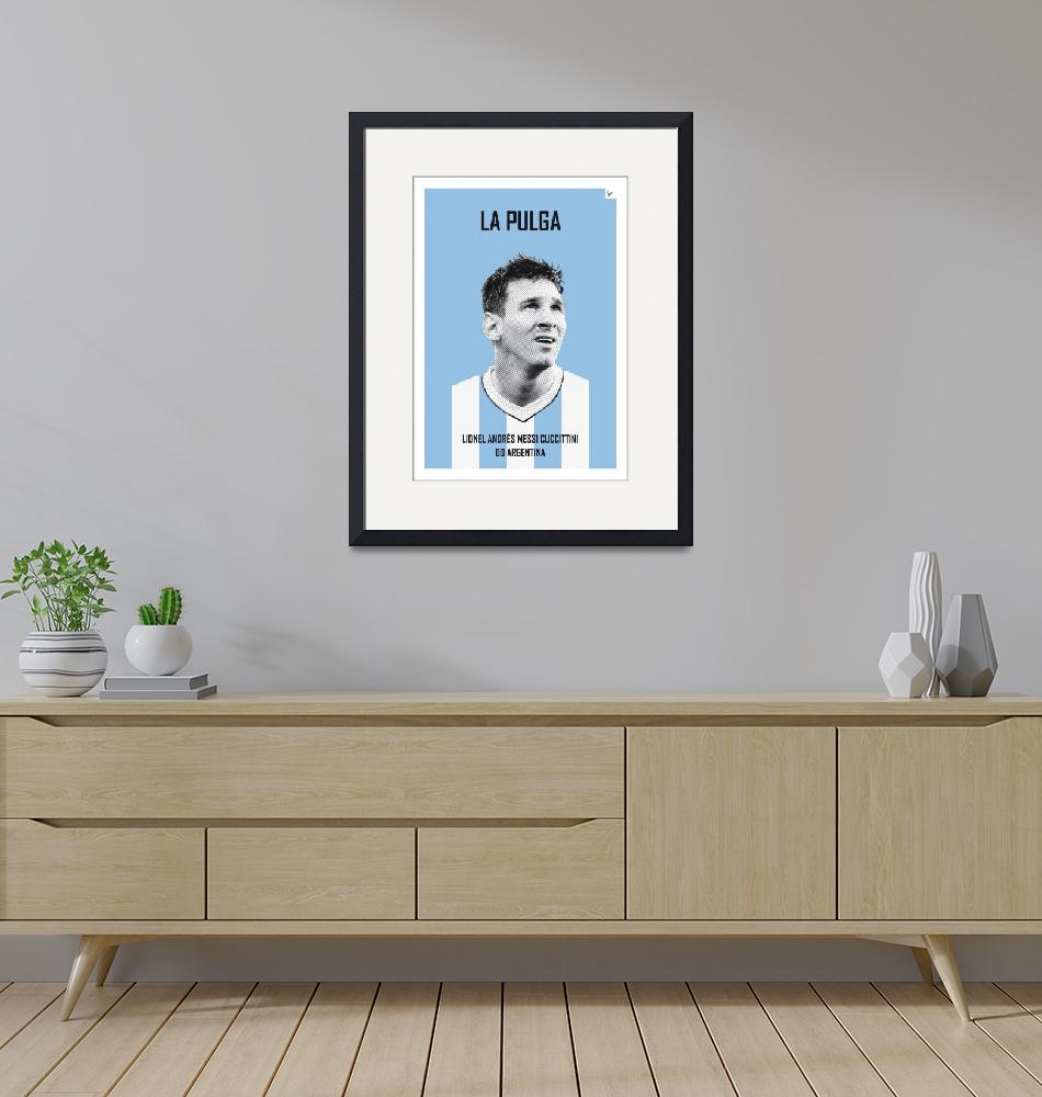 """My Messi soccer legend poster""  by Chungkong"
