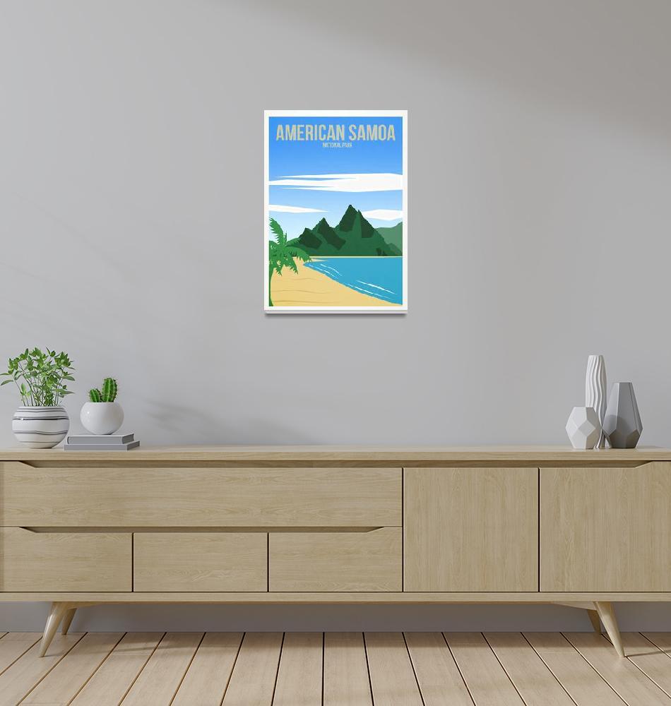 """American Samoa National Park""  by HarknettPrints"