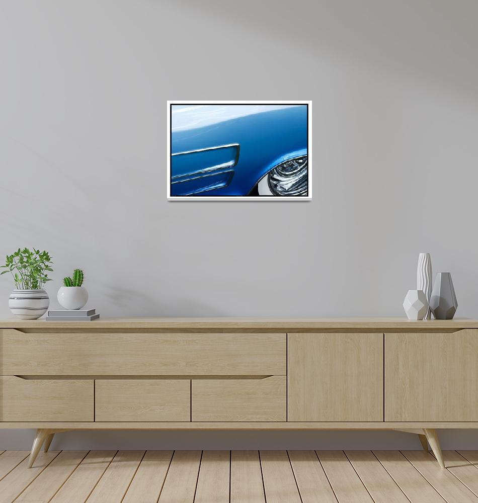 """Classic Car Blue 09.20.08_349""  (2008) by paulhasara"
