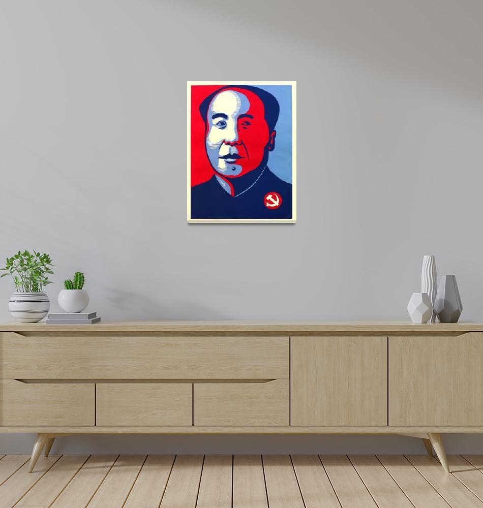 """""""ObaMao""""  (2008) by patrickyan"""