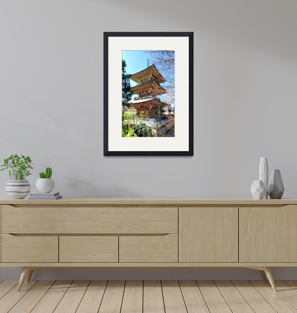 """""""Wooden Pagoda""""  (2012) by JoaoPonces"""