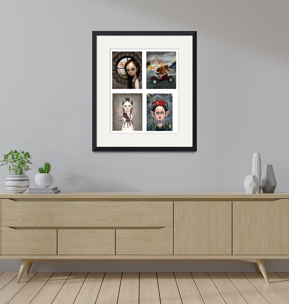 """wishes_sergei_nina_frida_print""  by terriwoodward"