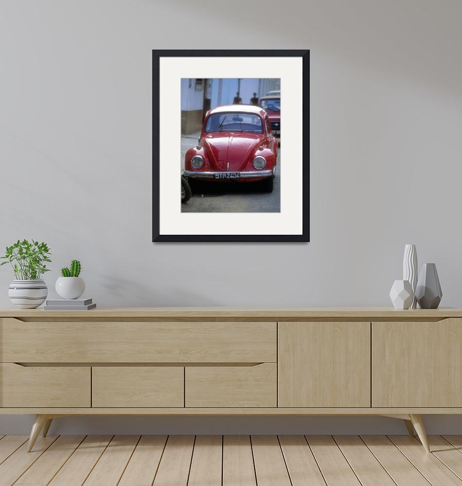 """""""Sao Tom Red VW""""  (2000) by JoaoPonces"""