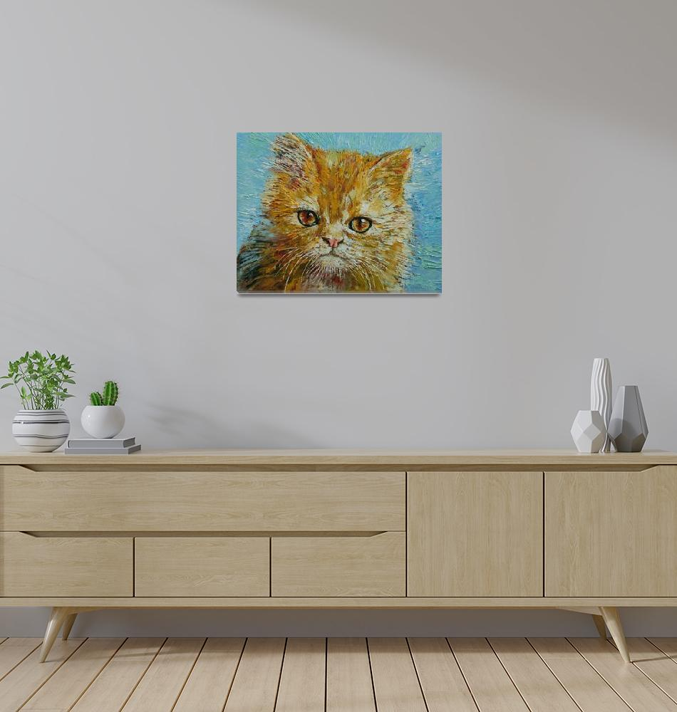 """Van Gogh the Kitten""  by creese"