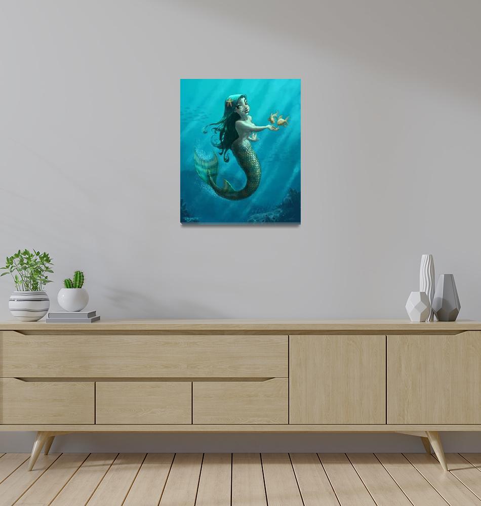 """Mermaid"" (2007) by mdashow"