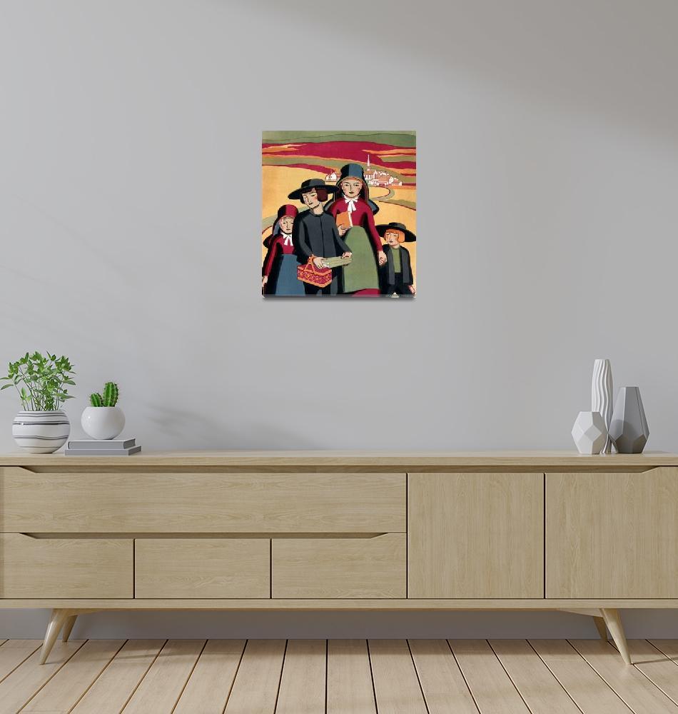 """PENNSYLVANIA DUTCH""  (1937) by homegear"
