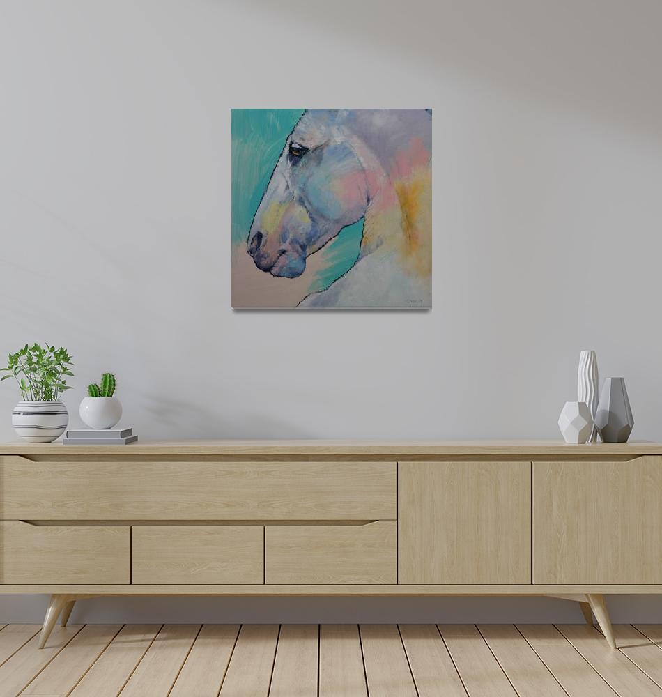 """""""Lipizzan Stallion""""  by creese"""