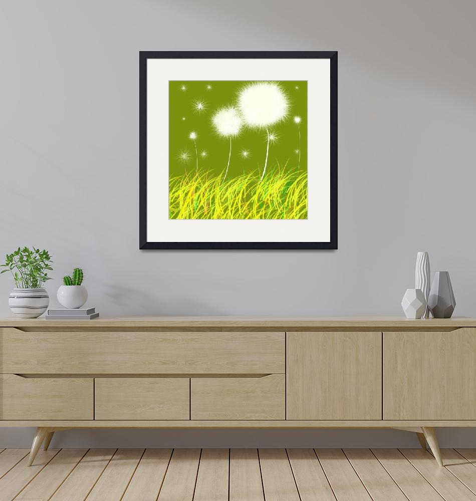 """Dandelions Are Free""  (2011) by oystudio"