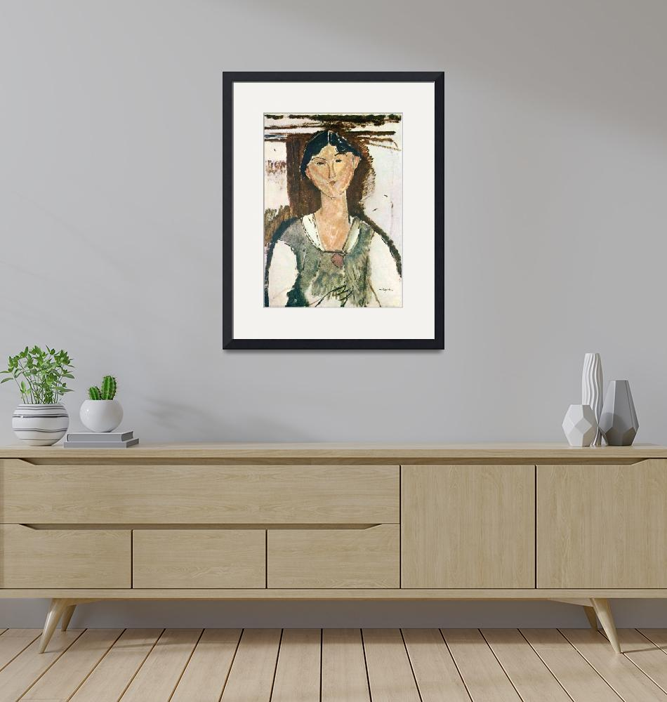 """Amedeo Clemente Modigliani Painting 45""  by ArtLoversOnline"