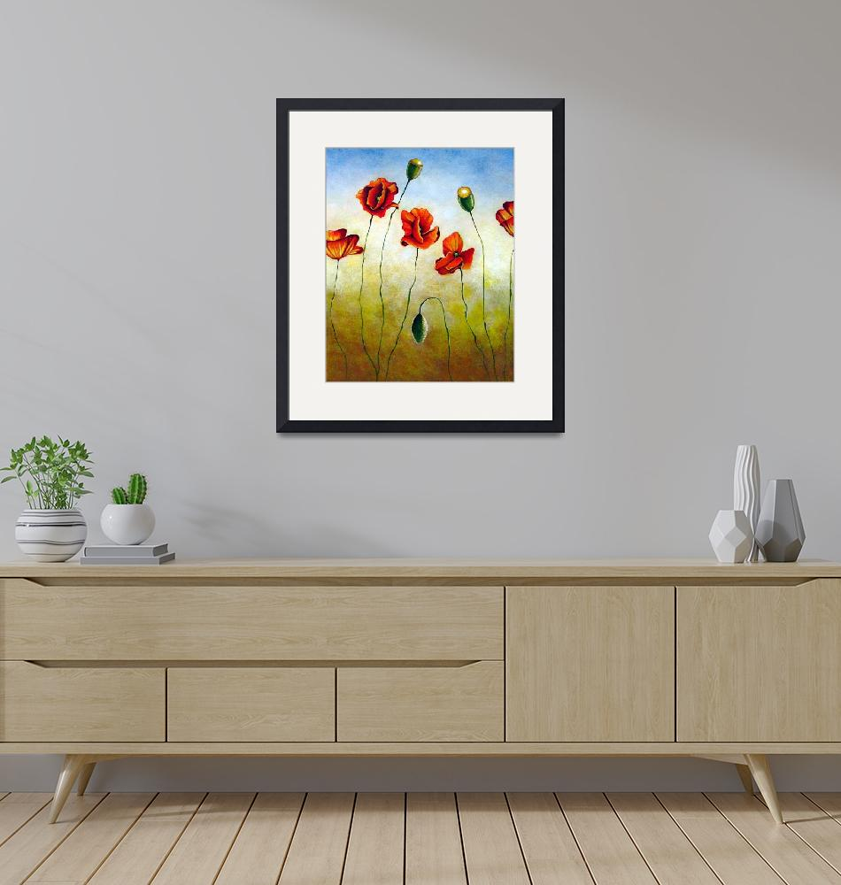 """""""Poppies""""  by Gilmore"""